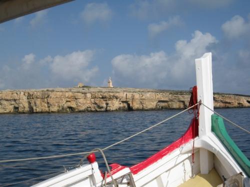 Delante de la isla de San Pablo